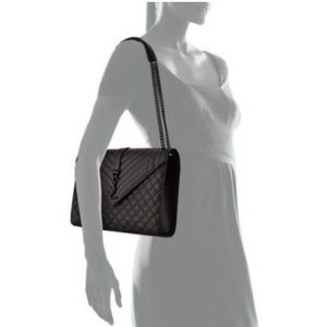 Saint Laurent Bags - Gorgeous YSL Large Tri-Quilted Bag 1a30f4825e381